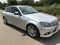 AUTOMATIC MERCEDES C220 CDI 2008 LEATHER AIR CON FULL SERVICE HISTORY