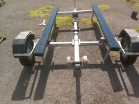Boat Trailer Rails made by Extreme Trailers