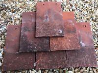 Reclaimed Blanchard handmade clay plain tiles