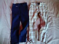 Equestrian horse riding girls trousers