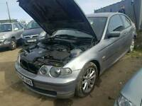 Bmw 318ti compact breaking for parts.