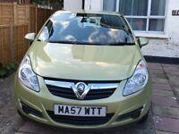 Vauxhall Corsa 1.3cdti Life 57 Plate Reliable Economical Low Insurance Group 5 door Hatchback