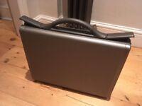 Samsonite hard Brief Case - graphite grey, hard case. Very smart