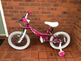 Dawes Lottie 16 Inch Wheel 2015 Pink Girls Bike