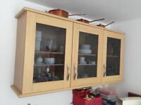 Kitchen units 3 base 3 wall