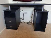 Black PC Desk £50 ono