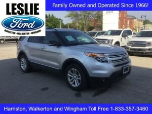 2015 Ford Explorer XLT | 4WD | One Owner | Heated Seats