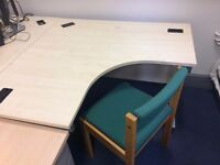 2 X Corner Desks, EXCELLENT CONDITION, FREE!!