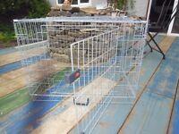 Dog cage - medium size. Excellent condition.