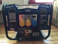 BRAND NEW Ford 6.5kw Petrol Generator FG7750PE