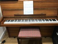 Knight K20 upright piano **PRICED REDUCED TO SELL**