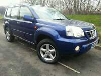 NISSAN X-TRAIL 2.2 DCI SVE 136 2003*TOP SPEC*FULL LEATHER*SUPERB CONDN#4X4#JEEP#RAV 4#CRV#FREELANDER