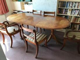 Vintage / antique dining table set