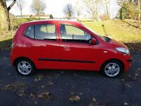 Hyundai i10 5 door ONe owner Full Hyundai Service History HPI clear No accidents 2 keys