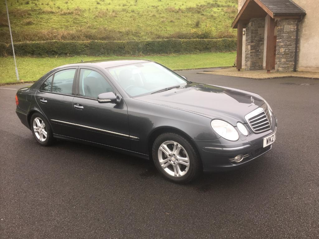08 Mercedes E220 diesel