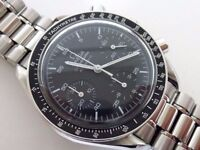 OMEGA Speedmaster Chronograph Automatic wrist Watch Ref:3510.50 Moon Nasa seamaster £1250