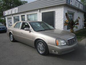 2004 Cadillac Deville DHS int cuir
