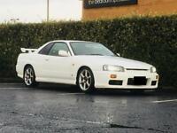 Nissan Skyline R34 swap px drift r33 r32 200sx 350z Toyota Mitsubishi