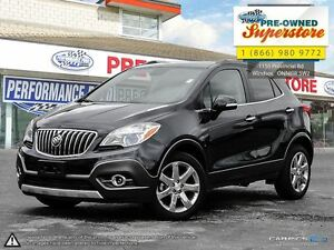 2016 Buick Encore Leather***NAV, AWD, leather***