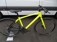 Raleigh Strada Speed 1 Brand New Fast Road Flatbar Hybrid Bike Hydraulic Brakes Located in Bridgend