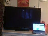 "Panasonic Viera TX-P50VT20B 50"" 3D-Ready 1080p HD Plasma Internet TV - London - Rarely used!! L@@K!!"