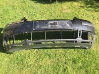 VW Passat front bumper cover in black