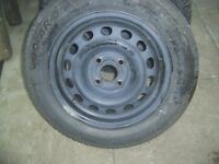 Brand new 175/65/14 tyre on a 4 stud wheel