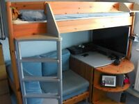 Stompa Casa high sleeper Bed Unit - Great condition non-smoking home