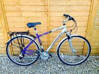 Serviced Claud Butler Hybrid Bike With Suspension - Excellent