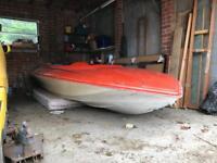 Magnum 13ft speed boat-FREE