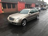 Fantastic low mileage E320 CDI Elegance in Cubanite Silver with only 81,000 miles!