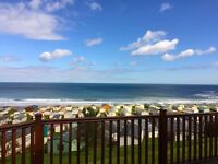 Look at this amazing view!!! Lodge for sale at Pease Bay with sea views. Pay monthly options.