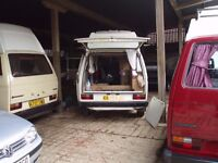 We generally hav a selection of VW Campers Motor Homes available and more on the way.
