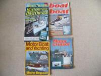 Old Boating Magazines