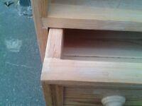 Quality Pine Bedside Cabinet