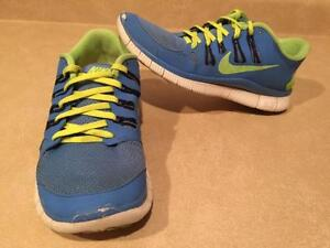 Women's Nike+ Free 5.0 Running Shoes Size 9
