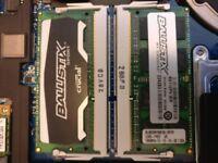 Crucial Ballistix Sport DDR3 SODIMM 16GB (2x8GB) 1866MHz PC3-14900 boxed