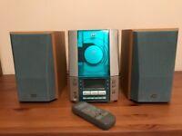 JVC Mini component system CD/Tape/Tuner/Aux