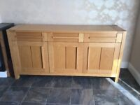Dining table & 6 chairs/ Sideboard can be sold separately