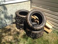 Arctic cat quad tires brand new