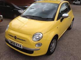 2008 Fiat 500 1.2 pop 3 door.(39000 MILES)