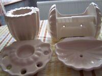 Cream Ceramic Bathroom Accessories