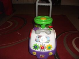 toystory baby walker , small storage