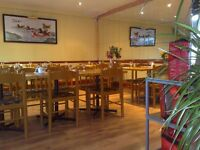 Spacious Licensed Restaurant (including Takeaway & Delivery) in Greenford near Southall