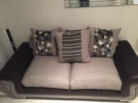 Black & Grey Sofa