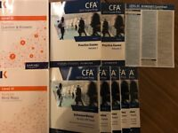 CFA 3 III 2017 Kaplan Schweser study guides, practice exams, revision mind maps