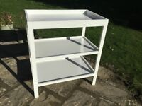 Mothercare Ayr Changing Table in white