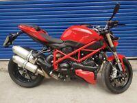 Ducati F848 Streetfighter 849cc