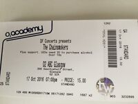 1 x The Chainsmokers Concert Ticket at Glasgow O2 ABC on Monday 17/10/2016