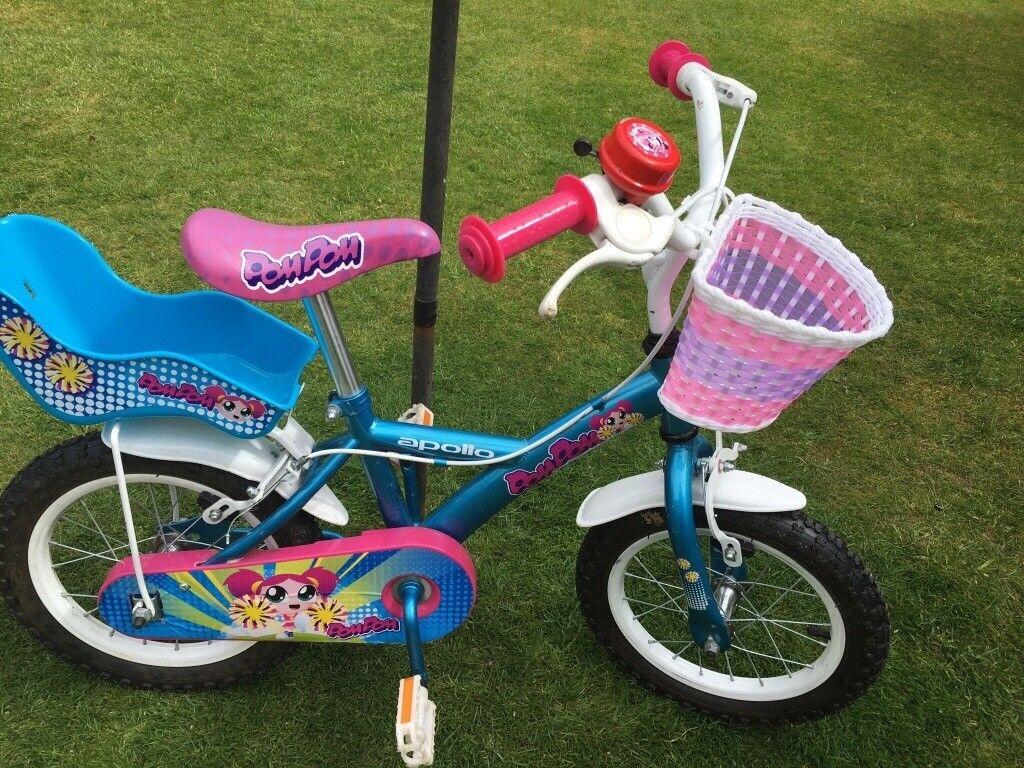 """10"""" wheel girl's bicycle"""